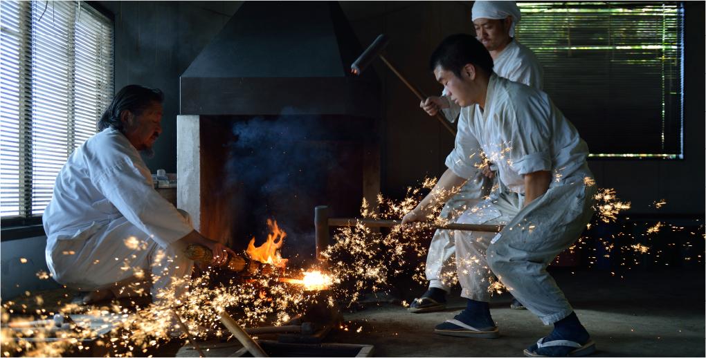 Výroba japonských nožov
